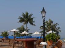 Tropical terrace Royalty Free Stock Photos
