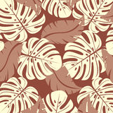 Tropical texture.Vector. Royalty Free Stock Photos
