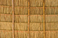 Tropical thatched roof Royalty Free Stock Photos