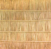 Tropical thatched roof background Stock Photo