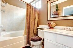 Tropical theme bathroom Royalty Free Stock Photography