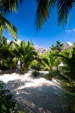 Tropical tourist resort in the Caribbean Stock Images