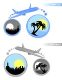 Tropical travel Royalty Free Stock Photo