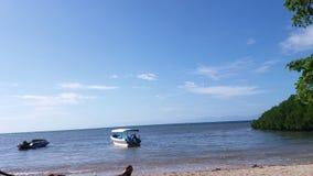 Tropical travel  beach. Tropical travel at bama beach Baluran national Park situbondo East Java Indonesia Stock Photo
