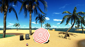 Tropical trip Royalty Free Stock Image