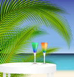 Tropical trip Royalty Free Stock Images