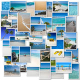 Tropical trip collection Royalty Free Stock Images