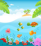 Tropical Underwater Royalty Free Stock Image