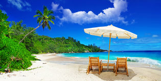 Tropical vacation Royalty Free Stock Photo
