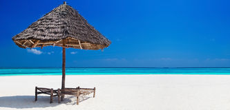 Tropical vacation banner royalty free stock photo
