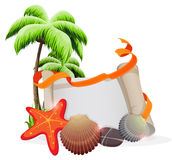 Tropical vacation concept Stock Image