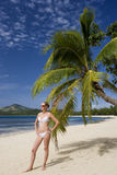 Tropical Vacation - Fiji in the South Pacific Royalty Free Stock Photography
