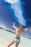 Tropical Vacation - Fiji - South Pacific Ocean Stock Image