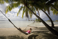 Tropical Vacation - French Polynesia Royalty Free Stock Photo