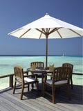 Tropical Vacation - The Maldives Royalty Free Stock Photo