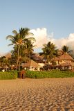 Tropical vacation resort. A tropical vacation resort in Maui, Hawaii Stock Photography