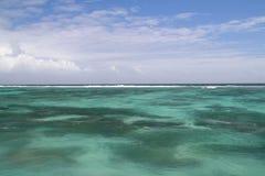 Tropical vea con los corales Foto de archivo libre de regalías