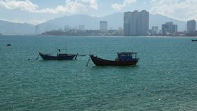 Tropical Vietnamese coastline high definition movie stock video