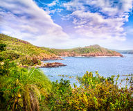 Tropical view in India Royalty Free Stock Images