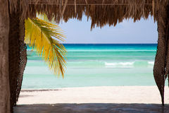 Tropical View in Sahona Island Royalty Free Stock Images