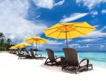 Tropical  view Royalty Free Stock Photography
