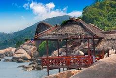 Tropical Villa Stock Photography
