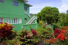 Tropical villa, Caribbean. Tropical villa in Grenada, Caribbean royalty free stock photography