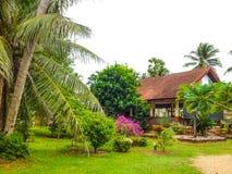 Tropical villa Stock Photos