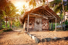 Tropical village Stock Images