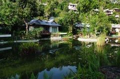Tropical villas Stock Photography