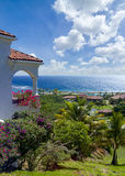 Tropical villas Royalty Free Stock Image
