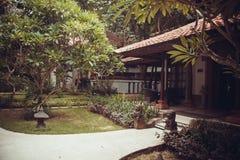 Tropical villas in Bali Stock Photography