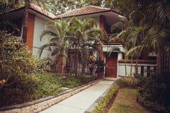 Tropical villas in Bali Stock Image