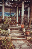 Tropical villas in Bali Stock Photos