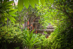 Tropical villas in Bali Royalty Free Stock Photos