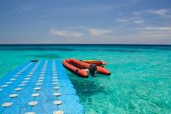 Tropical water way Stock Photos