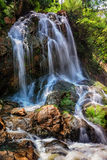 Tropical waterfal in jungle Stock Photos