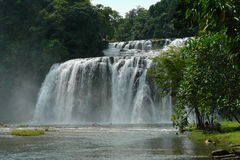 Tropical waterfall. Stock Photo