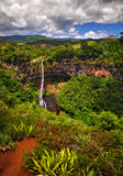 Tropical waterfall Stock Image