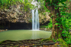 Tropical Waterfall Royalty Free Stock Photos