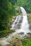Tropical waterfall. Huai sai lueang waterfall in Doi inthanon national park, Thailand Stock Images
