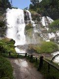 Tropical waterfall, Chiangmai, Thailand Stock Photo