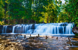 Tropical waterfall Royalty Free Stock Images