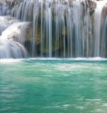 Tropical waterfall and pools Stock Photography