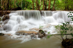 Tropical Waterfall Thailand Stock Image
