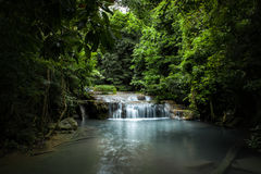 Tropical Waterfall in thailand Stock Image