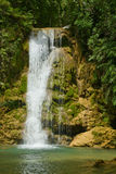 Tropical Waterfalls. In Dominican republic Royalty Free Stock Photography