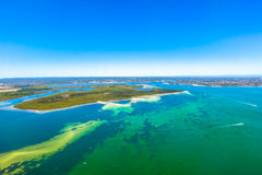 Tropical waters in New South Wales, Australia Stock Images