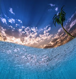 Tropical Waters Royalty Free Stock Photography
