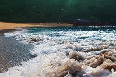 Tropical waves Royalty Free Stock Photos